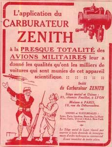 Rochet schneider carburateur zenith