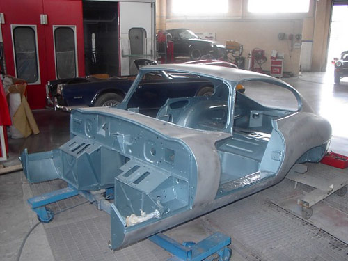 jaguar type e restauration