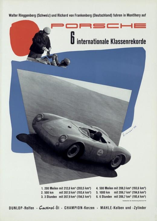 Posters De Course Porsche Des Ann 233 Es 50