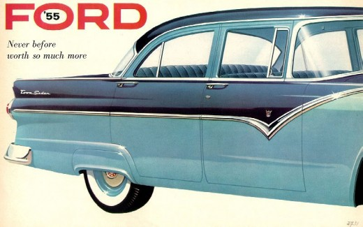 Brochure Ford Fairlane 55