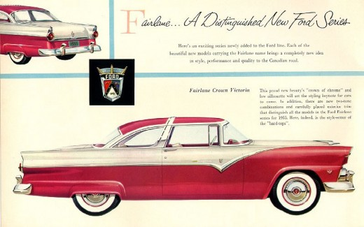 Brochure Ford Fairlane 6
