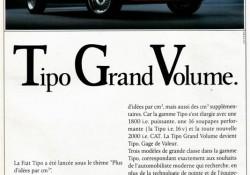 Publicité Fiat Tipo