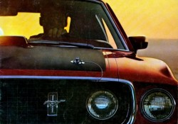 brochure ford mustang 1969
