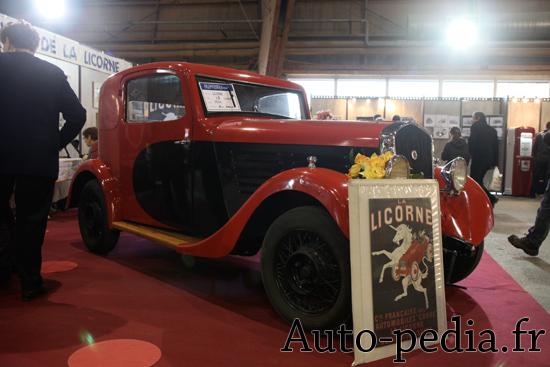 automobile licorne