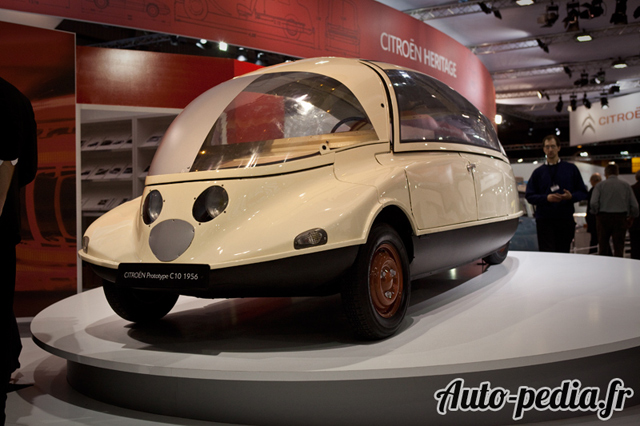 La Citroen Prototype c10 de 1956